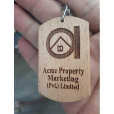 Customized Your Business Name Key chain - Pack Of 50 Key Chains