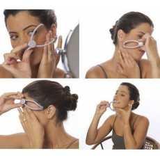 Slique Eyebrow Face And Body Hair Threading Tweezers