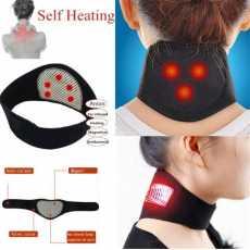 Health Care Neck Support Massager 1Pcs Tourmaline Self-heating Neck Belt...