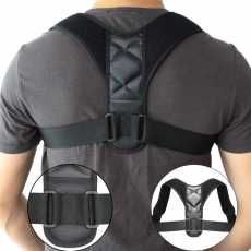 New Fully Adjustable Breathable Clavicle Chest Provide Lumb ar Support Back...