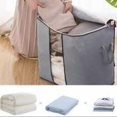 Pack Of 4 Folding Storage Bag Closet Organizer Cloth Storage Boxes for Wardrobe