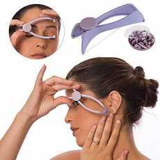 Slique - Facial Hair Remover Threading Kit - Purple