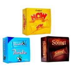 Pack of 3 Chocolate Boxes 54 Chocolates (Now+Sonnet+Paradise)