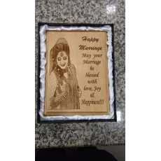 Engrave Your Picture frame & print Your Name Poem Etc Save Your Great...