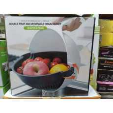 Multifunctional, Drain Basket, Vegetable, Slicer, Rotate Vegetable, Chopper...