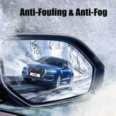 Waterproof Motorcycle Window Rainproof Auto Clear Sticker Car Rearview Mirror...