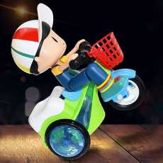 Mini Stunt Cycle Toy For Kids