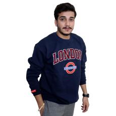 Licensed Unisex London Applique Underground Sweatshirt