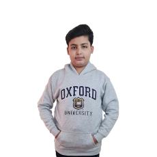 Licensed Unisex Oxford University kids Hooded Sweatshirt Grey