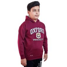 Licensed Unisex Oxford University Kids Hooded Sweatshirt Maroon