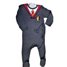 Licensed Harry Potter Kids Romper Baby Grow with Hat Gryffindor