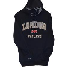 London England Kids Hoodie Hooded Sweatshirt Navy Colour