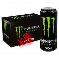 monster energy drink ( pack of 8 ) 500ml