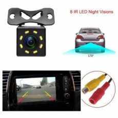 Universal Car Rear View Camera Waterproof HD 8 LED Night Vision