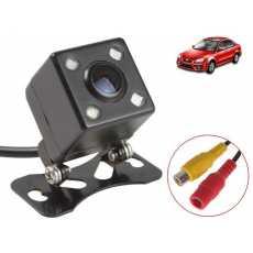 Universal Car Rear View Camera Waterproof HD 4 LED Night Vision