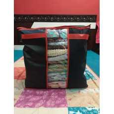 New Space Saver Wardrobe Clothing Quilts Storage Bag Box Portable Organizer...