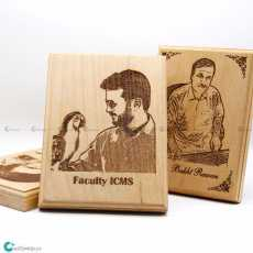 Customized Laser Engraved Picture frame-Print Your Own Image Size 4 x 6