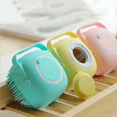 {HIGH QUALITY} Soft Shower Sponge, Silicone Soft Bath Brush with Shampoo...