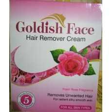 Goldish Face Hair Remover Cream