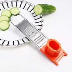 Stainless Steel Garlic Plane Planning Grater Blades Vegetable Cutter Potato...