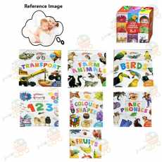 Learning Library Pack Of 8 Books | Juniorscart