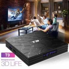 SMART BOX T9 4GB+64GB QUAD CORE 4K ULTA HD 9.0V