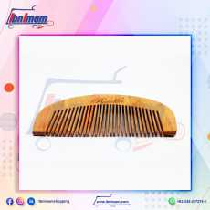Wooden hair comb for anti-hair fall – small  – 1 piece