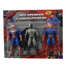 New Kids Action Figures Super Hero's Pack for Kids Spiderman Batman Superman
