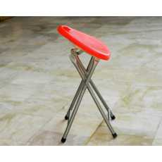Plastic Folding Stool with Handle in 4 colors  Best portable folding stool...