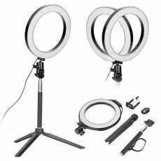 8 Inch/20 Cm LED Selfie Ring Light Studio Photography Photo Ring Fill Light...