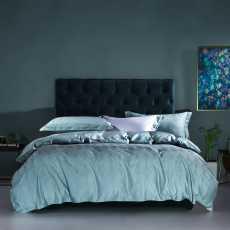 4 Pcs Quilt Cover Set- Jacquard Bedding Set Irene- King Size Bedsheets Set