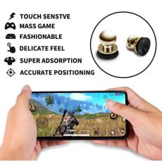 Metal Joystick Trigger Triger Tragar sucation cup for Pubg Mobile controller...