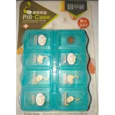 Pill box 7 Days Dispenser Week dispenser Plastic Mini pocket Size