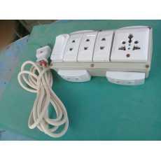 Extansion 10 in 1  all pin plug 99.9 copper wire  ( COMPUTER, IRON, TV,...