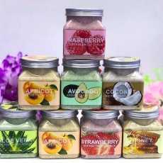 Wokali Sherbet Body Scrub -350ml all flavors available