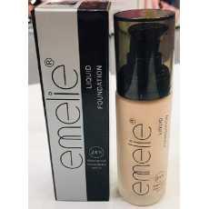 Emelie Liquid Foundation 24h Water proof Vitamin E& A SPF 25