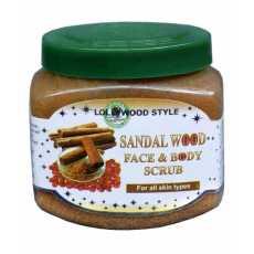 Sandal Wood Face & Body Scrub  Professional Formula-300ml