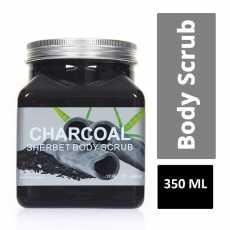Wokali Charcoal Sherbet Body Scrub -350ml