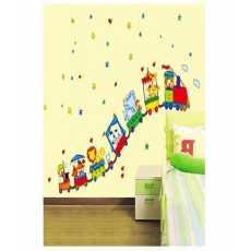 Cartoon Train Wall Sticker xh6215