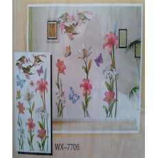 6D Wall Sticker Colourful Sunshine Wx-7706