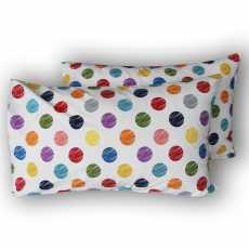 Polka Dots Pure Cotton Pillow Covers
