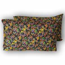 Graffiti Style Pure Cotton Pillow Covers