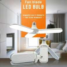 40w Led Bulb  Fan blade  LED BULB folding garage light superior QUALITY