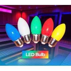 Night led Bulb 1 Watt  3 PCS Watt Energy saving Led Bulb AVILABLE( E-27 $...
