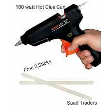 100 watt Imported Automatic 220volt Thermostat Electric Hot Glue_Gun 2 free...