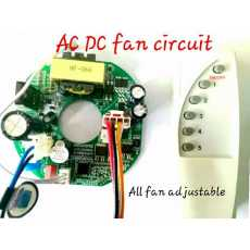 A.C. DC SOLOR FAN CIRCUIT Samll circuit with Remote Superior QUALITY