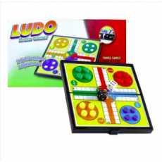 Folding Magnetic Ludo Board Game Medium, Board Folding Travel Magnetic Ludo...