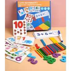 I love Mathematics Enlightenment Teaching Aid