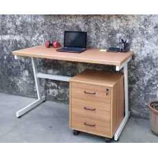 Office Table Desktop Table With Book Shelf Office Desk Book Shelf Laptop...
