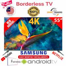 Samsung M 55 Inches Smart Android WiFi 4K Full HD LED TV